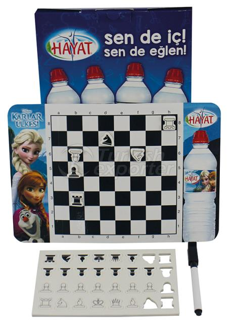 magnetic kids chess set with board