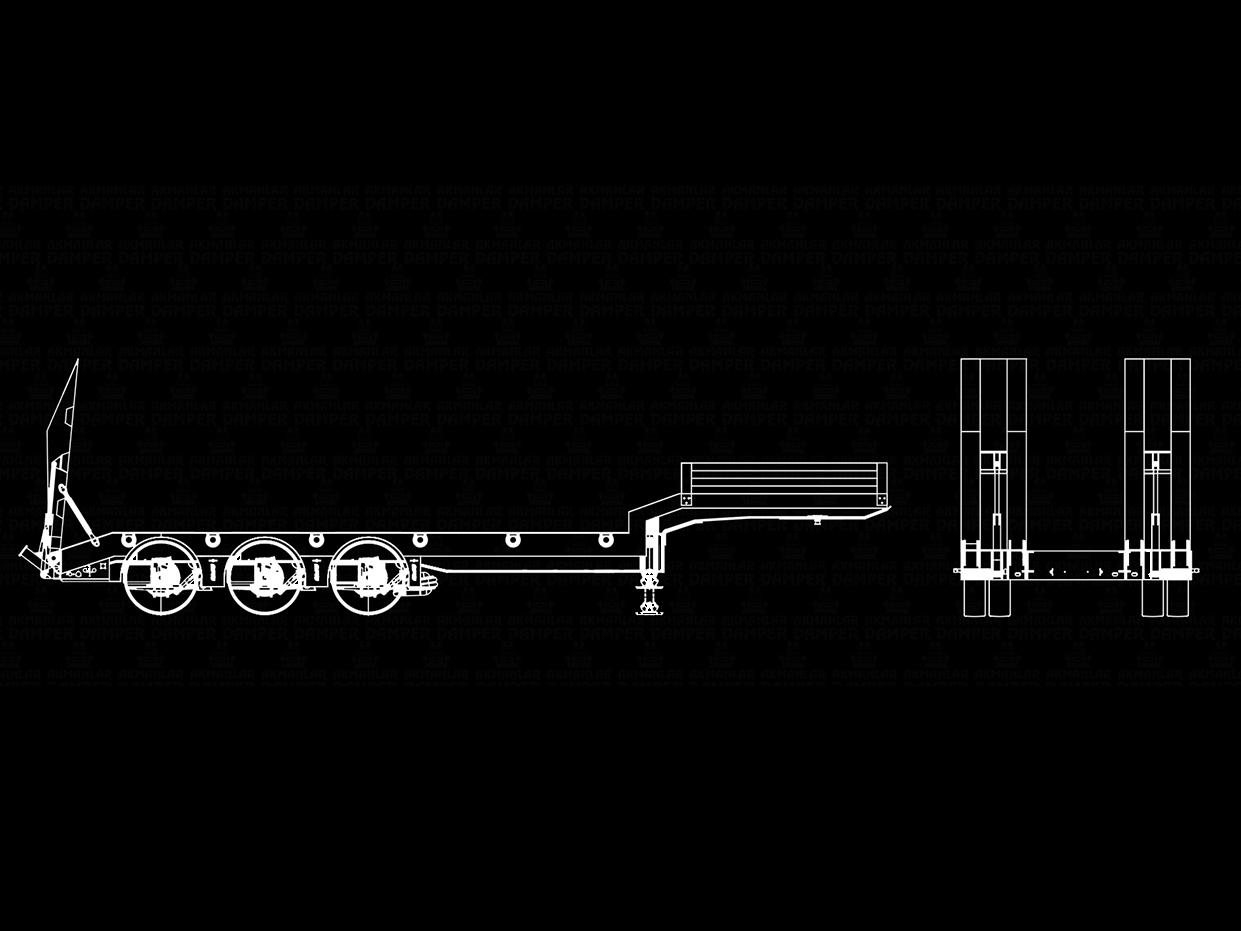3 Axle Tipper Trailer