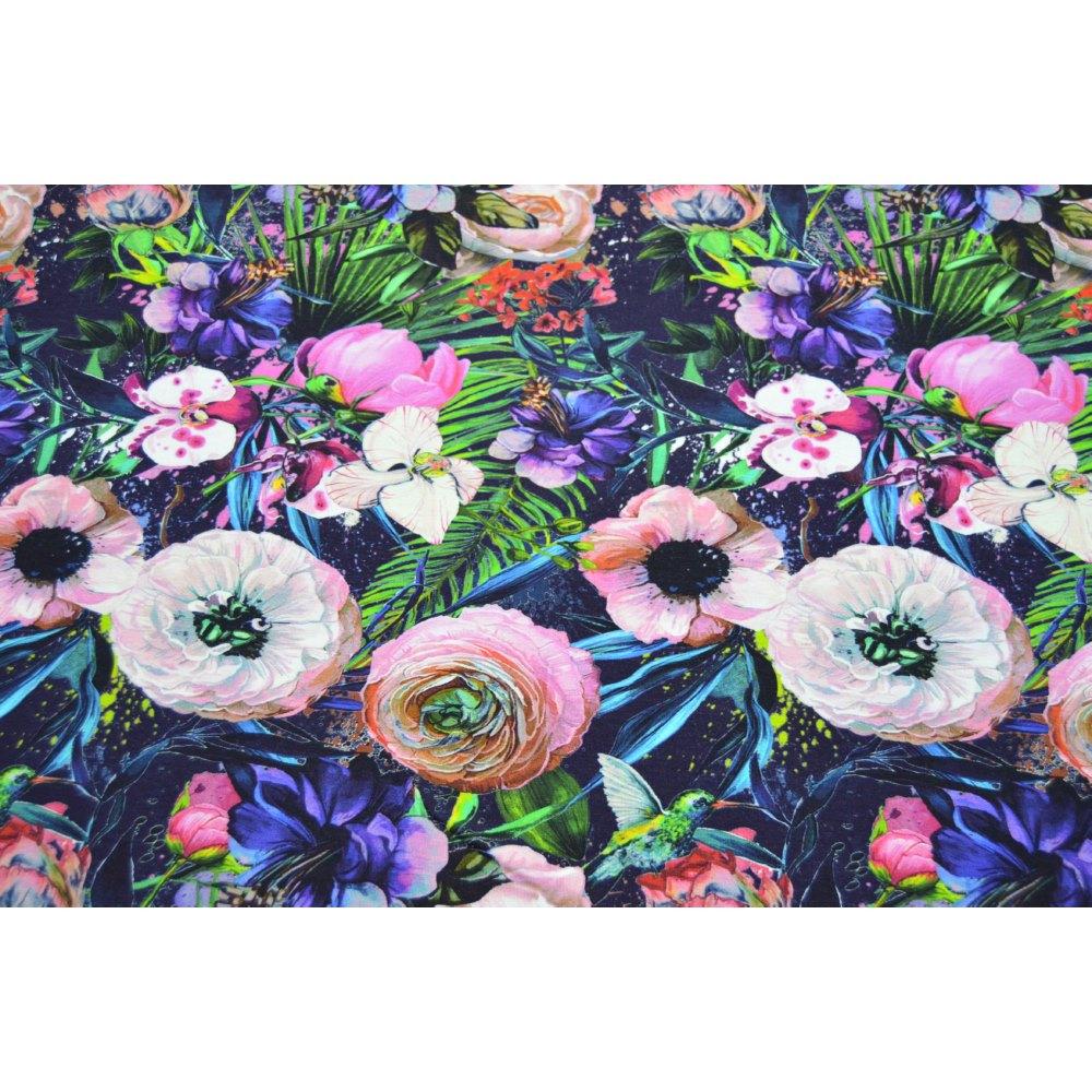 Digital Reactive Printed Viscose Fabric