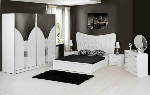 Bedroom Sets LWY-18 SAFIR  WHITE