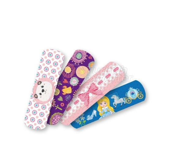 Honnes Printed First Aid Strips Girls