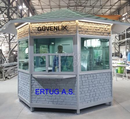 BR6 Armored Security Cabins