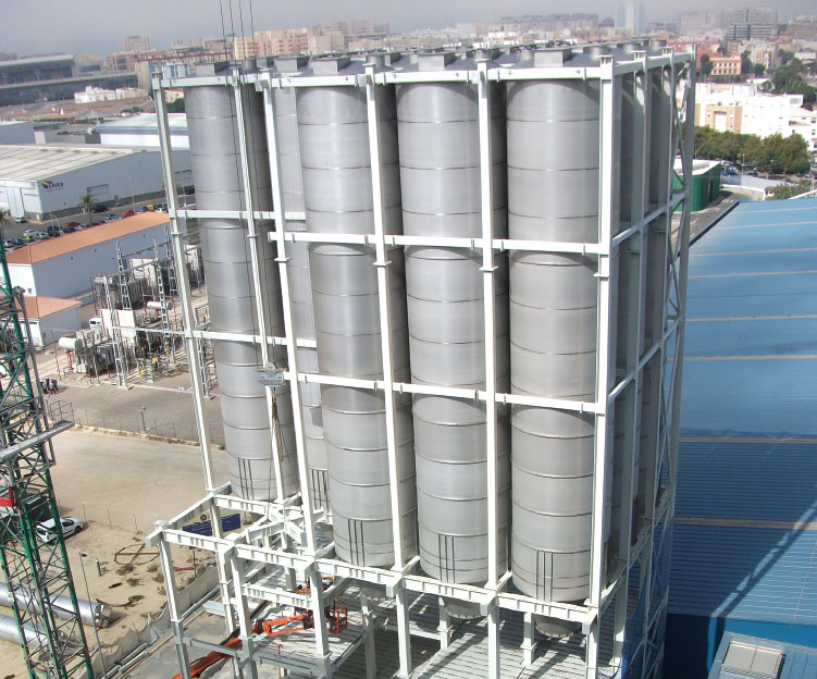 Silos and Steel Chassis