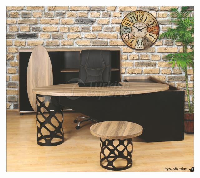 Office Table Set - Feyza