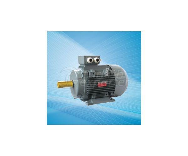 محركات كهربائية مصبوبة