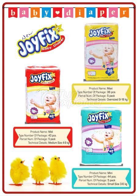 New Joyfixحفاضات اطفال