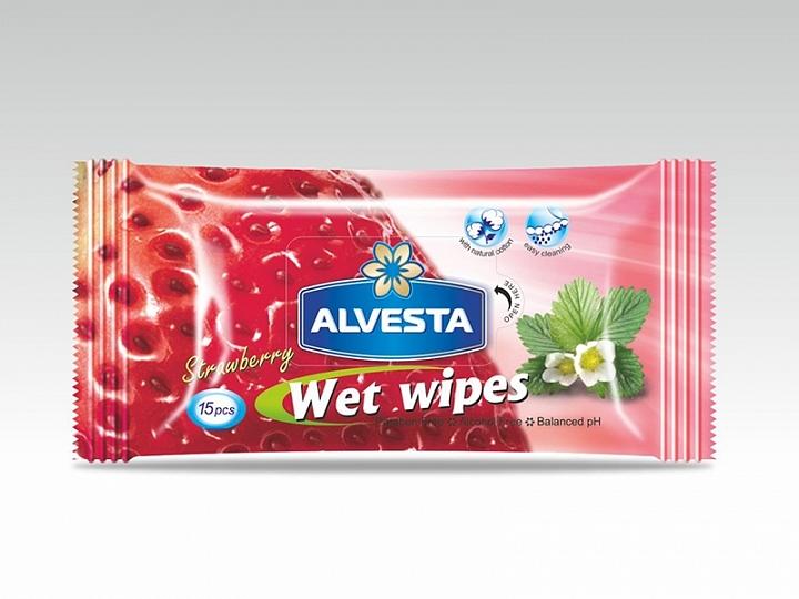 Strawberry Wet Wipes