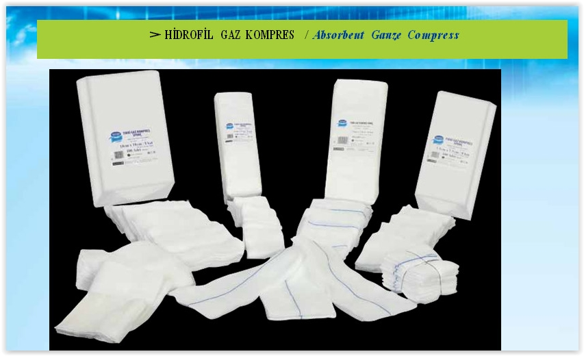 Hidrofil Gaz Kompres