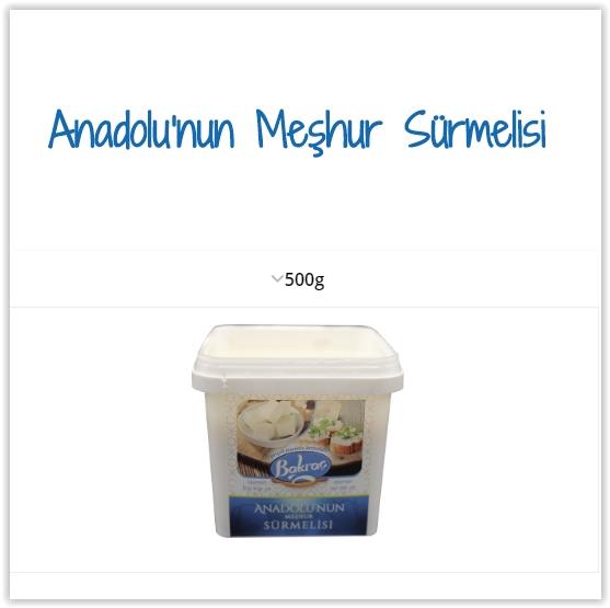 Spreadable Cheeses - Anatolian Surmeli
