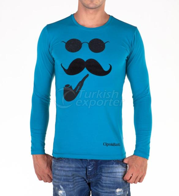 Mens Tops - T-shirts C-5374