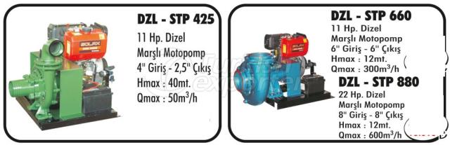 Diesel and Gasoline MotoPumps