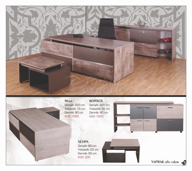 Office Table Set - Yaprak