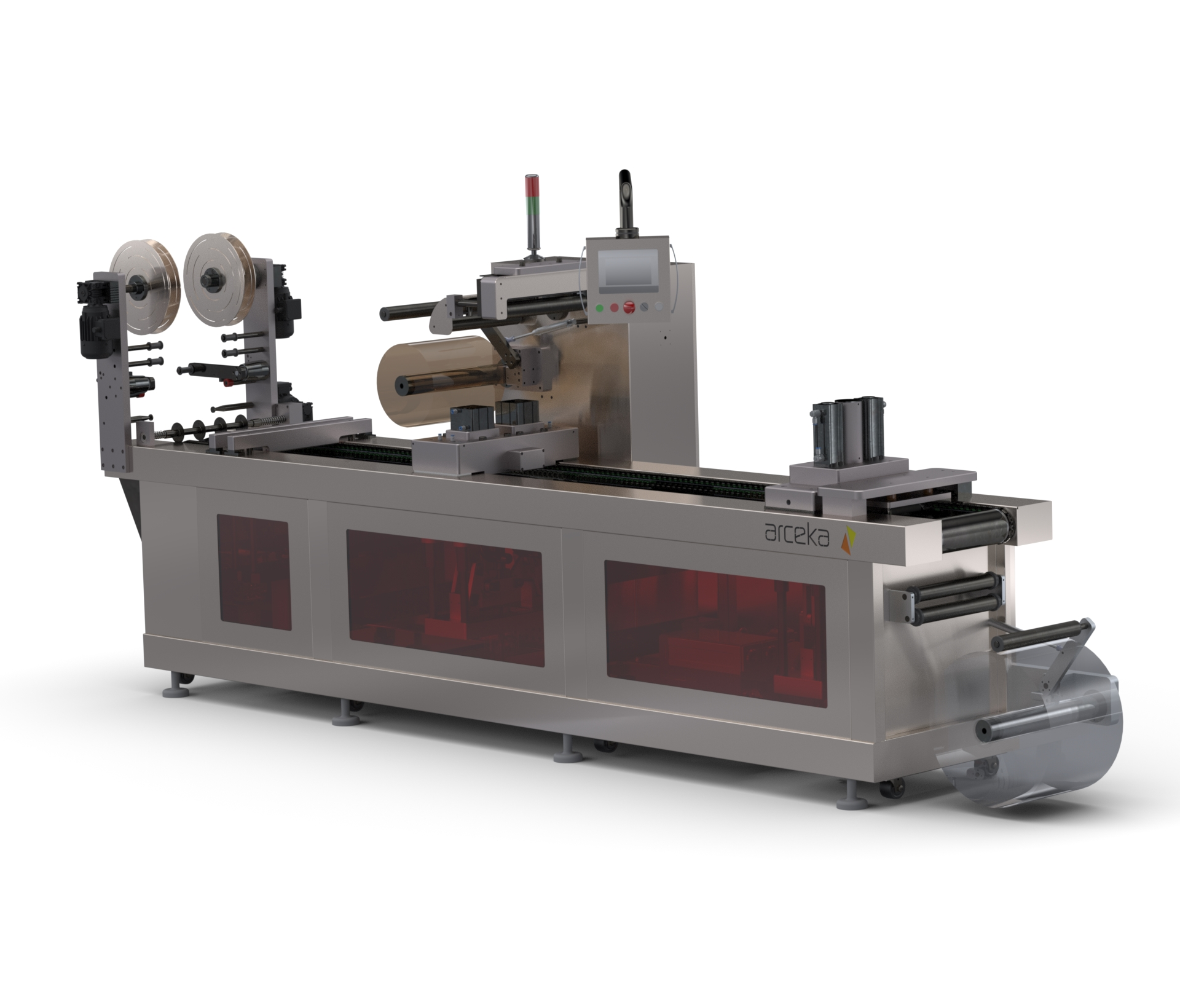 Thermoforming Machine For Food Process