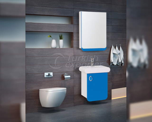 Turkuaz Bath Cabinet