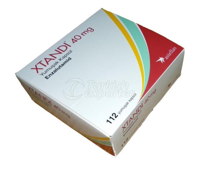 Xtandi enzalutamid 40 mg