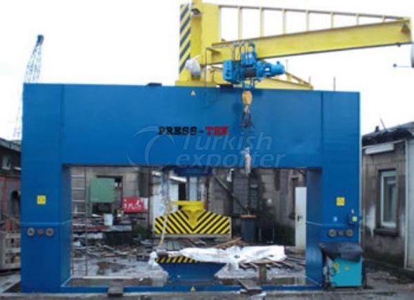 Gemi Yapım Presi SCP610 400-600 t