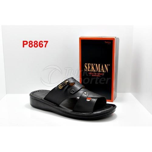 SEKMAN P8867 Black Slipper