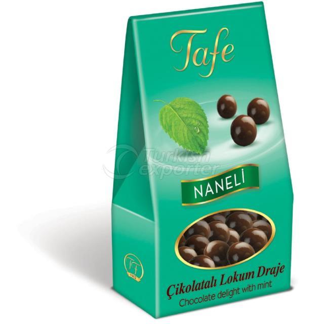 1248 kod Naneli Çikolatalı Lokum Draje 60g