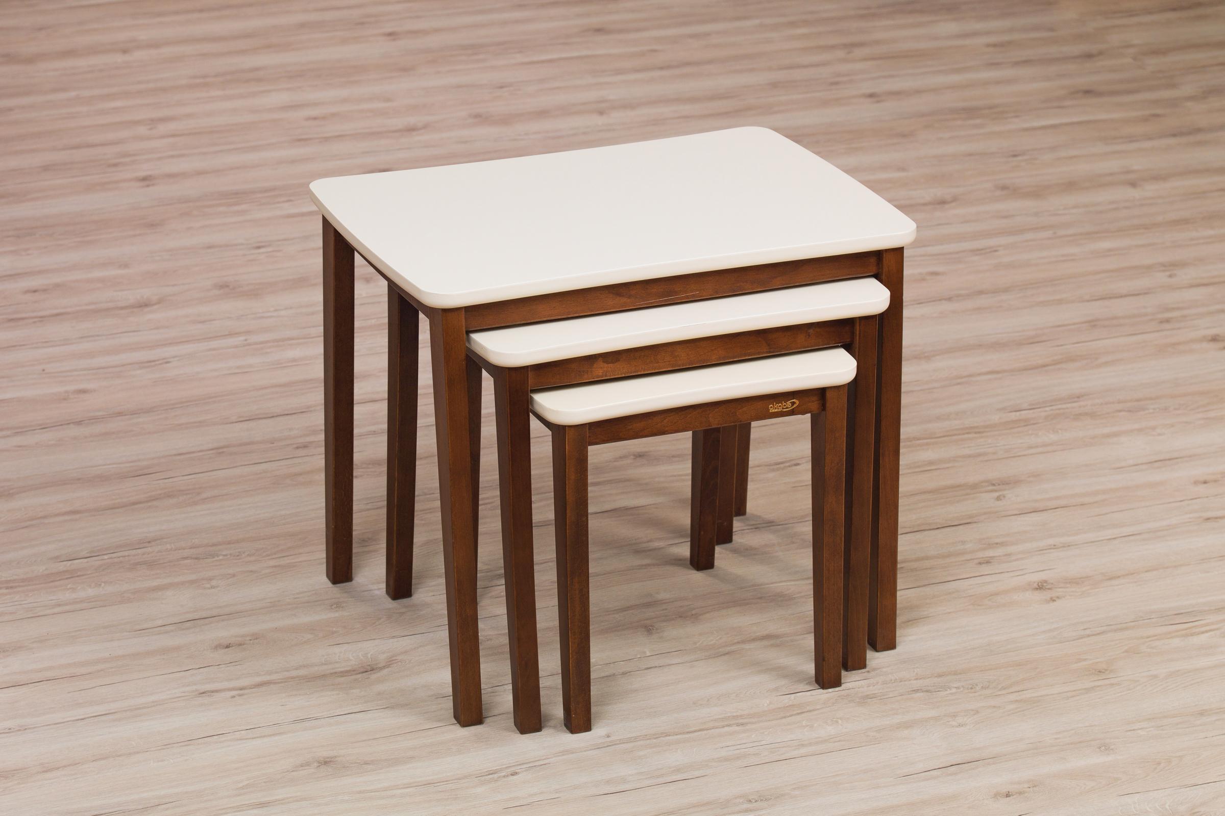 124 COFFE TABLE SET 4 PART