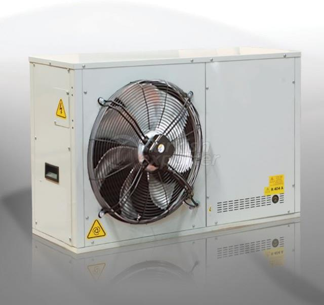 SCROLL DOUBLE-REGIME COOLING UNITS