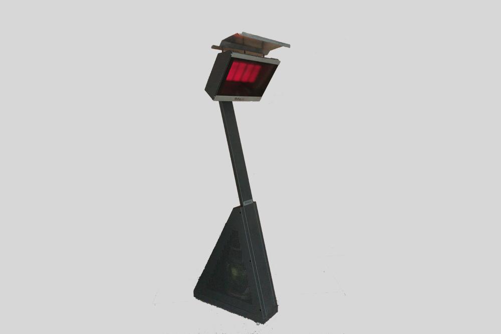 Mira Heating Glass Panel Portable Gas Patio Heater