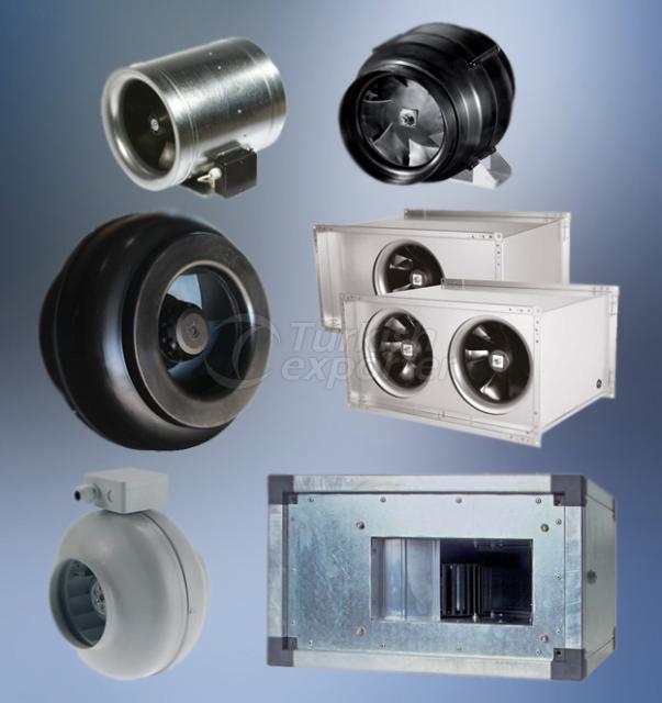 Ventiladores tipo ducto DCF0