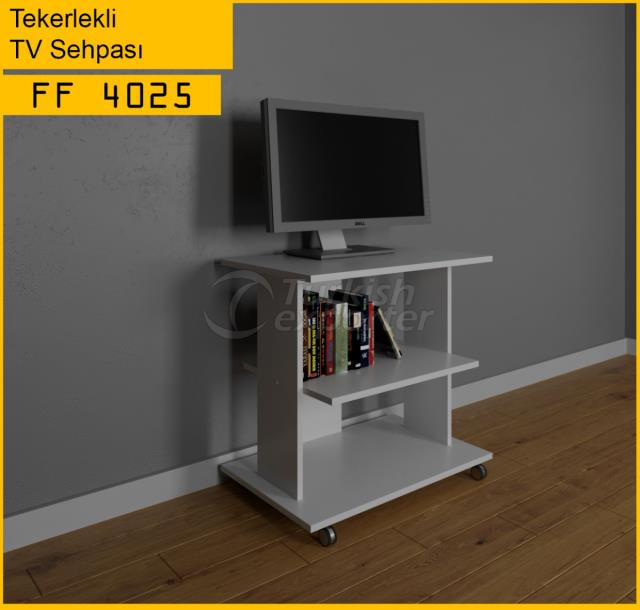 FF 4025 حامل تلفزيون على كرسي متحرك