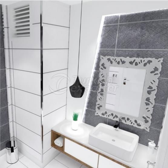 ديكورات اثاث حمام