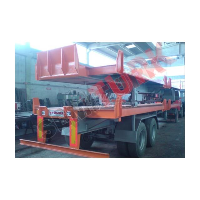 HEAVY DUTY CONTAINER CARRIER SEMI-TRAILER