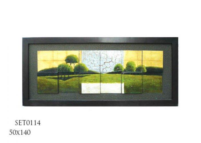 Decorative oilpaintings set0114