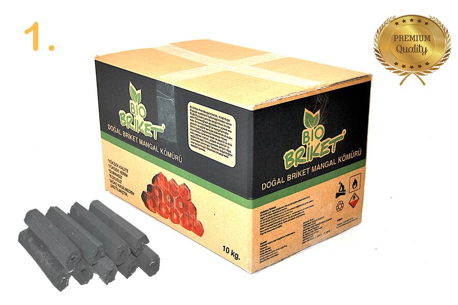 Bio Briket Nutshell Briquette Charcoal 10 Kg