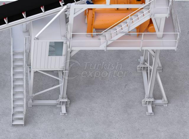 C-120 Compact Concrete Batching Plant