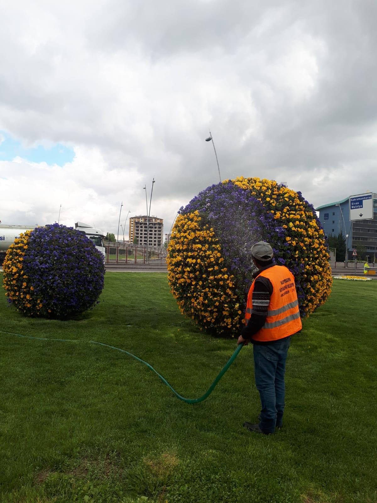 Mobilier Urbain - Boule de Fleurs