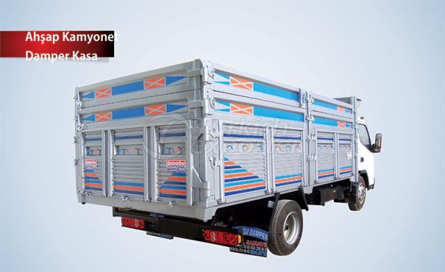 Wooden Dumper Truck Box