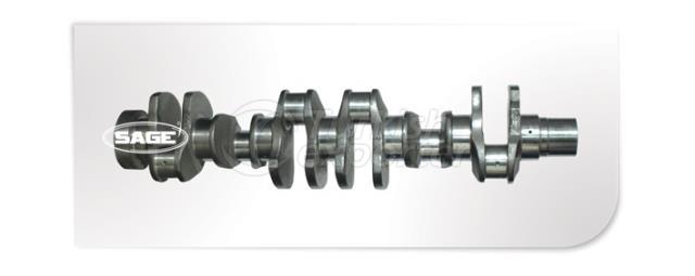 Komatsu S6d 125 Crankshafts - SG4304