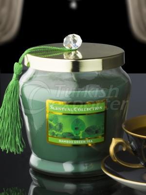 Decorative Tasseled Candles