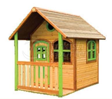 OE 4030  Wooden Playhouse