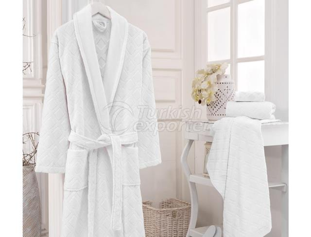 100% Turkish Cotton Hotel Bathrobe