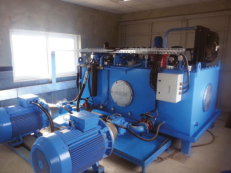 Industrial Hydraulic Machines - 1