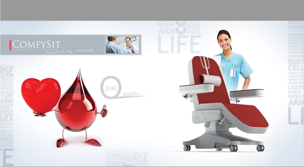 COMFYSIT BLOOD DONOR/TRANSFUSION CHAIR (4 Motors)