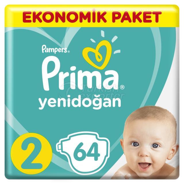 Paquet Économique Active Prima Pampers