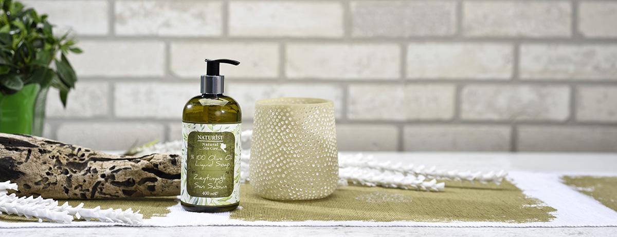 zeytinyağlı sıvı sabun