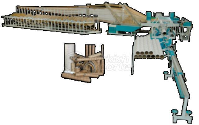 25 Katlı Kağıt Mihfer Boru Makinesi V2500
