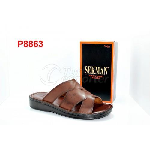 SEKMAN P8863 Brown Slipper
