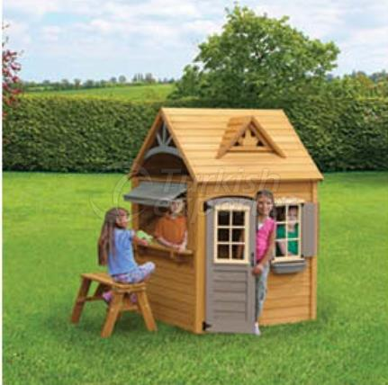 OE 4070  Wooden Playhouse