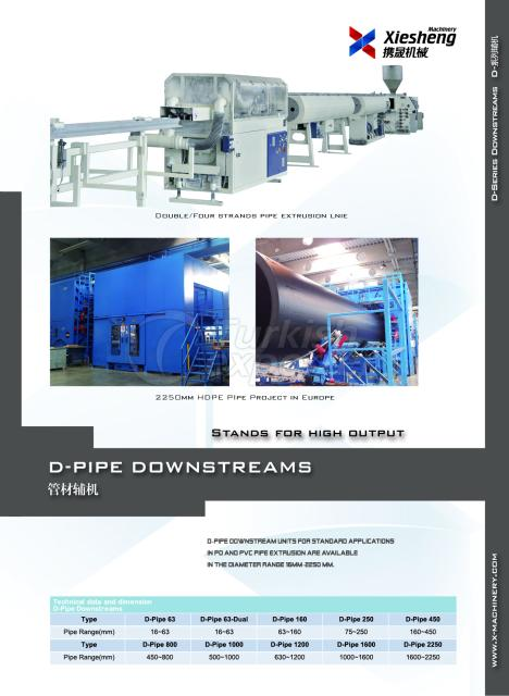 Pipe Extruders - Downstreams