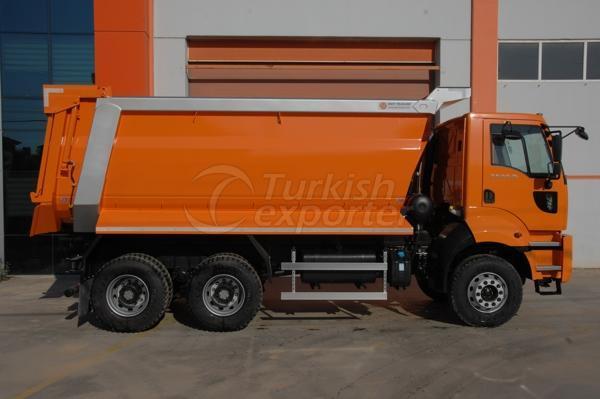 Caminhão montado meia tubulação Dump07
