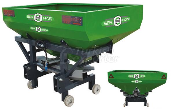 Square Manure Spreading Machine 800 Liters capacity