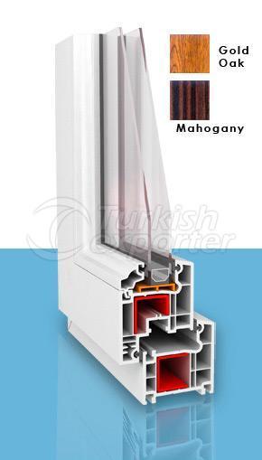 PVC Window 624 Series