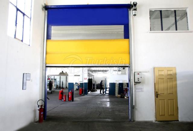 Автоматические двери- скат